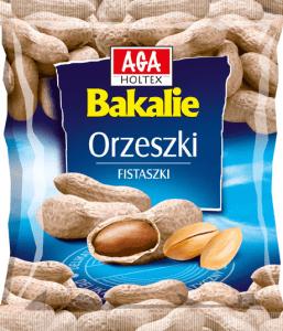 orzeszki fistaszki 120g